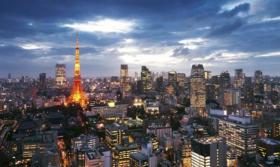Stay in Tokyo, the world's largest metropolis.